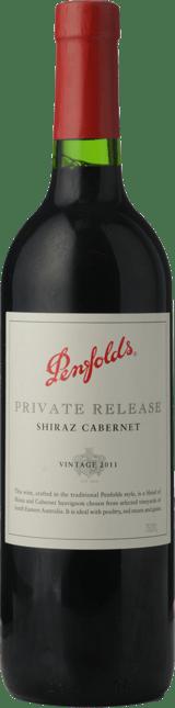 PENFOLDS Private Release Shiraz Cabernet, South Eastern Australia 2011