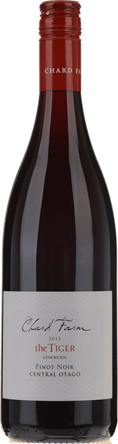 CHARD FARM VINEYARD The Tiger Pinot Noir, Central Otago 2012