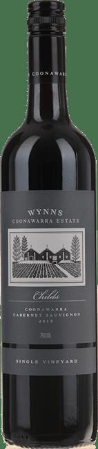 WYNNS COONAWARRA ESTATE Childs Single Vineyard Cabernet Sauvignon, Coonawarra 2012