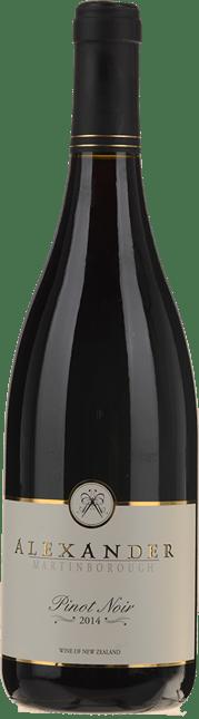 ALEXANDER VINEYARD Pinot Noir, Martinborough 2014