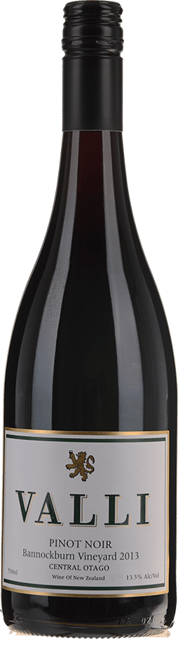VALLI Bannockburn Vineyard Pinot Noir, Central Otago 2013