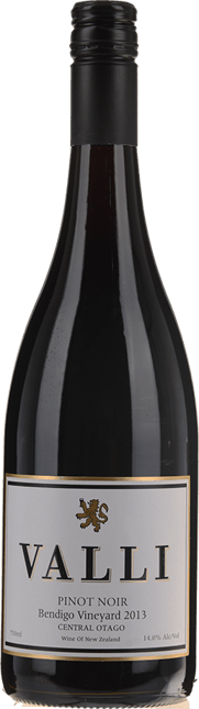 VALLI Bendigo Vineyard Pinot Noir, Central Otago 2013