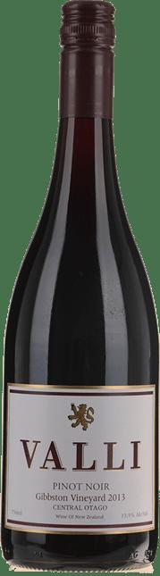 VALLI Gibbston Vineyard Pinot Noir, Central Otago 2013