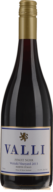 VALLI Waitaki Vineyard Pinot Noir, Central Otago 2013