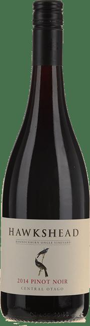 HAWKSHEAD VINEYARD Bannockburn Pinot Noir, Central Otago 2014