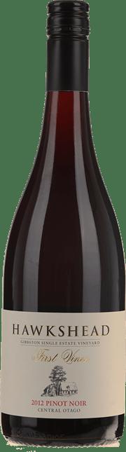 HAWKSHEAD VINEYARD First Vines Pinot Noir, Central Otago 2012