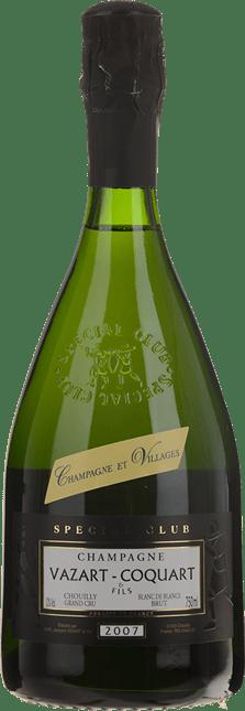 VAZART-COQUART & FILS Special Club Blanc de Blanc Grand Cru Brut , Champagne 2007