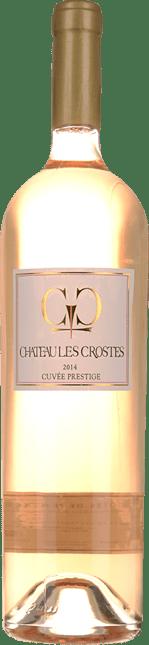 CHATEAU LES CROSTES Cuvee Prestige Rose, Cotes de Provence 2014