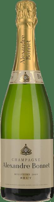 CHAMPAGNE ALEXANDRE BONNET Cuvee Milliesime, Champagne 2009