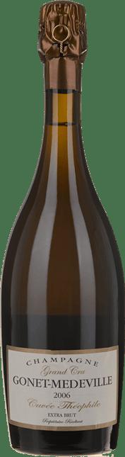 CHAMPAGNE GONET-MEDEVILLE Grand Cru Extra Brut Cuvee Theophile, Champagne 2006