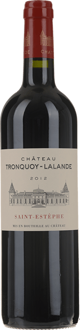 CHATEAU TRONQUOY-LALANDE Cru bourgeois, St-Estephe 2012