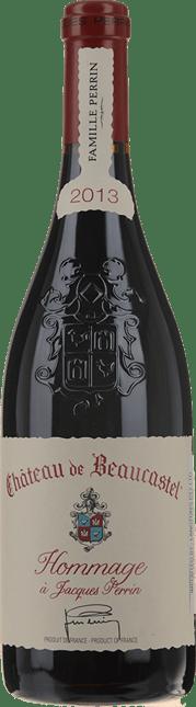 CHATEAU DE BEAUCASTEL Cuvee Hommage Jacques Perrin, Chateauneuf-du-Pape 2013