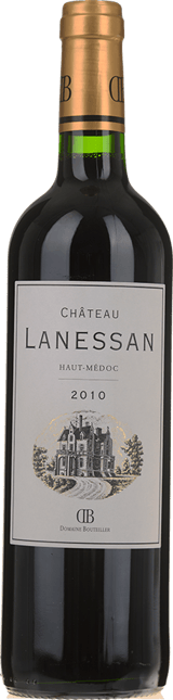 CHATEAU LANESSAN Cru bourgeois, Haut-Medoc 2010