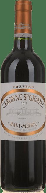 CHATEAU CARONNE-SAINTE-GEMME, cru bourgeois, Haut-Medoc 2011