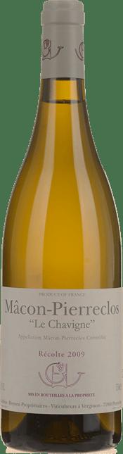 DOMAINE GUFFENS-HEYNEN Le Chavigne Chardonnay, Macon-Pierreclos 2009