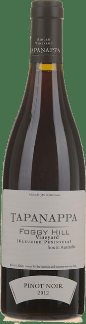 TAPANAPPA Foggy Hill Vineyard Pinot Noir, Fleurieu Peninsula 2012