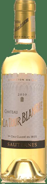 CHATEAU LA TOUR-BLANCHE 1er cru classe, Sauternes 2010