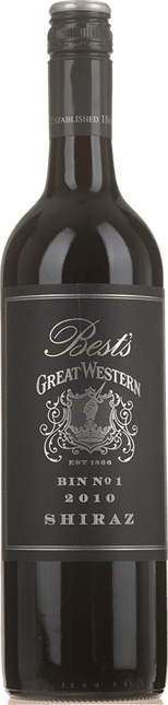 BEST'S WINES Bin 1 Great Western Shiraz, Grampians 2010