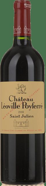 CHATEAU LEOVILLE-POYFERRE, 2me cru classe, St-Julien 2011