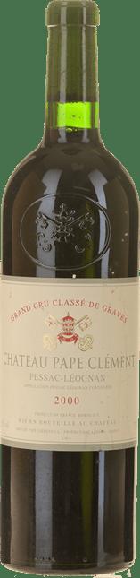 CHATEAU PAPE-CLEMENT Cru classe, Pessac-Leognan 2000