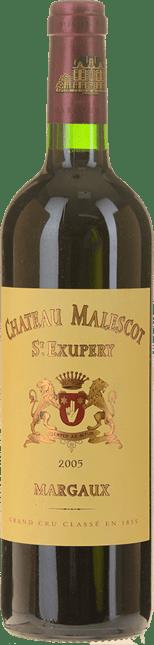 CHATEAU MALESCOT-SAINT-EXUPERY 3me cru classe, Margaux 2005