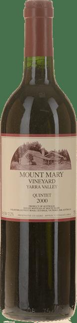 MOUNT MARY Quintet Cabernet Blend, Yarra Valley 2000