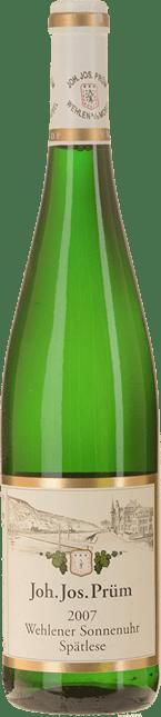 JOH. JOS. PRUM Wehlener Sonnenuhr Riesling-Spatlese, Mosel-Saar-Ruwer 2007
