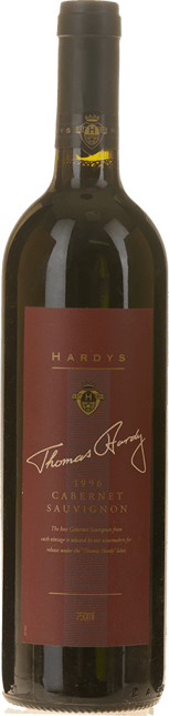 HARDY'S Thomas Hardy Cabernet, Adelaide Hills-McLaren Vale 1996