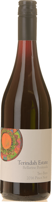 TERINDAH ESTATE Two Bays Pinot Noir, Bellarine Peninsula 2016