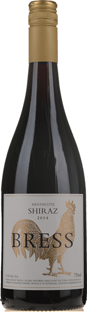 BRESS WINES Gold Chook Shiraz, Heathcote 2014