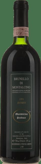 PARADISO DI FASTELLI MAURO Riserva , Brunello di Montalcino DOCG 1991
