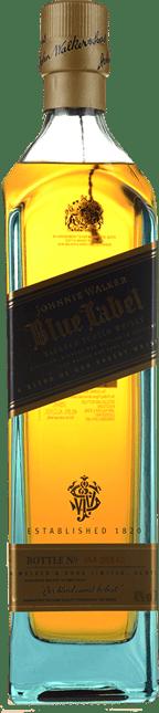 JOHNNIE WALKER Blue Label Scotch Whisky 40% ABV, Scotland NV