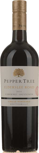 PEPPER TREE WINES Elderslee Road Cabernet Sauvignon, Wrattonbully 2014