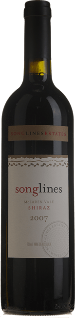 SONGLINES ESTATE Songlines Shiraz, McLaren Vale 2007