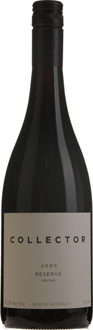 COLLECTOR Reserve Shiraz, Canberra District 2009