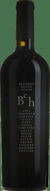 BRANSON COACH HOUSE Rare Single Vineyard Coach House Block Shiraz, Barossa Valley 2002