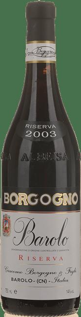 BORGOGNO Riserva, Barolo DOCG 2003
