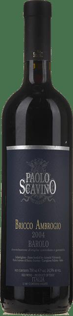 PAOLO SCAVINO Bricco Ambrogio, Barolo DOCG 2004