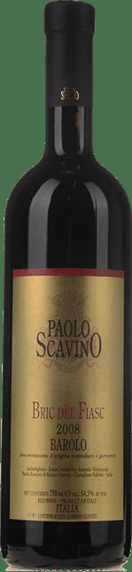 PAOLO SCAVINO Bric Del Fiasc, Barolo DOCG 2008