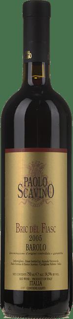 PAOLO SCAVINO Bric Del Fiasc, Barolo DOCG 2005