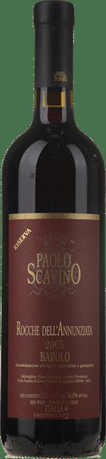 PAOLO SCAVINO Rocche dell Annunziata Reserva, Barolo DOCG 2005