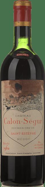 CHATEAU CALON-SEGUR 3me cru classe, St-Estephe 1962