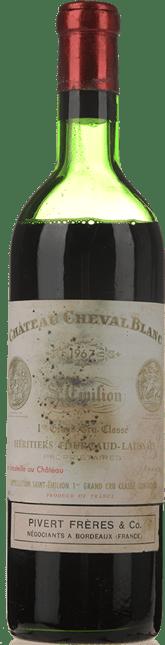 CHATEAU CHEVAL BLANC 1er grand cru classe (A), St-Emilion 1967
