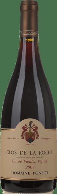 DOMAINE PONSOT Cuvee Vieilles Vignes, Clos de la Roche 2007