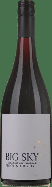 BIG SKY Te Muna Road Pinot Noir, Martinborough 2013