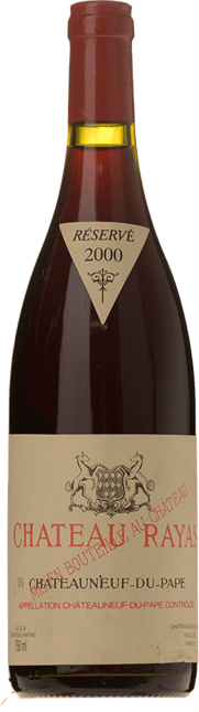 CHATEAU RAYAS Reserve, Chateauneuf-du-Pape 2000