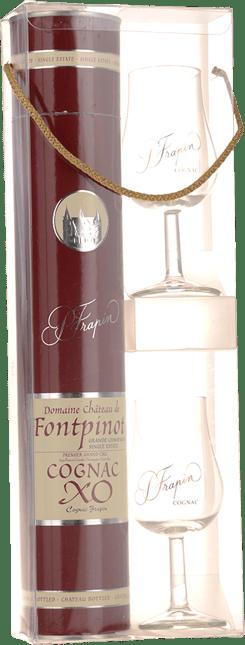 COGNAC FRAPIN Chateau Fontpinot XO Gift Set Cognac, Cognac NV