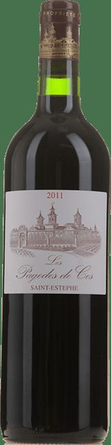 LES PAGODES DE COS Second wine of Ch. Cos d'Estournel, St-Estephe 2011