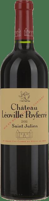 CHATEAU LEOVILLE-POYFERRE 2me cru classe, St-Julien 2011