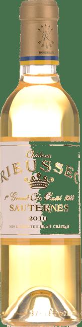 CHATEAU RIEUSSEC 1er cru classe, Sauternes 2010